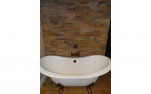 Clawfoot bath top