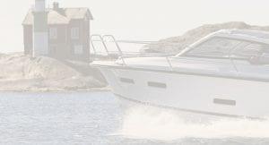 Boat near rocky shoreline