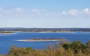 Picture of Canyon Lake blue water
